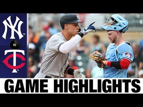 Yankees vs. Twins Game Highlights (6/9/21) | MLB Highlights