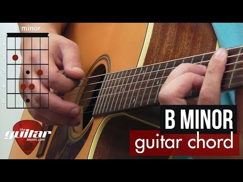 how-to-play-the-b-minor-chord-|-beginner-guitar-lesson