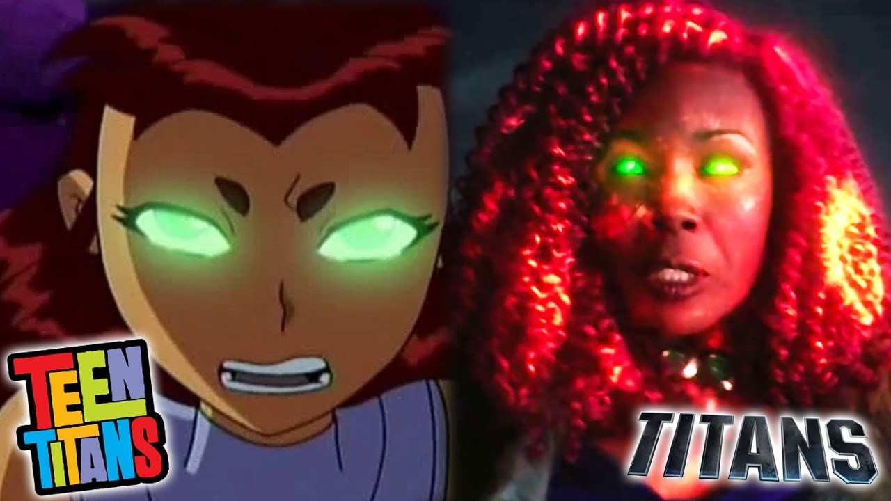 Download Differences Between Teen Titans 2003 And Titans 2018