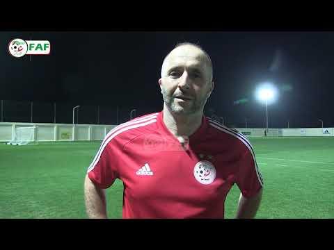 المدرب جمال بلماضي والقائد رياض محرز يدعوان الجماهير للحضور بقوة في مباراة البنين