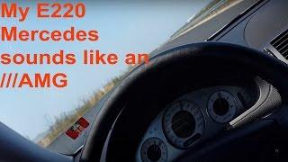 mercedes w211 e220 cdi acceleration