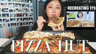 ⚠️Recreating my old mukbang...? FAILED ( Pizza Hut Pizza&Pasta mukbang)