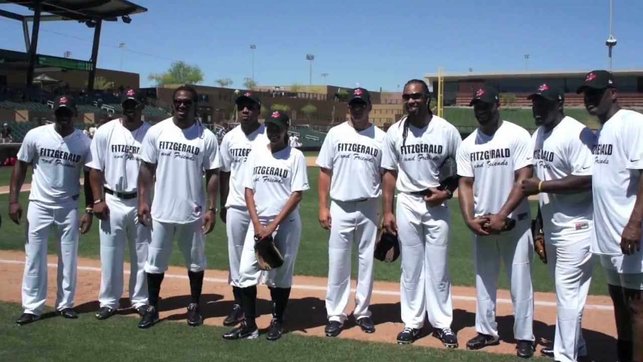 Larry Fitzgerald's Celebrity Softball Game! | 94.5 KOOL FM
