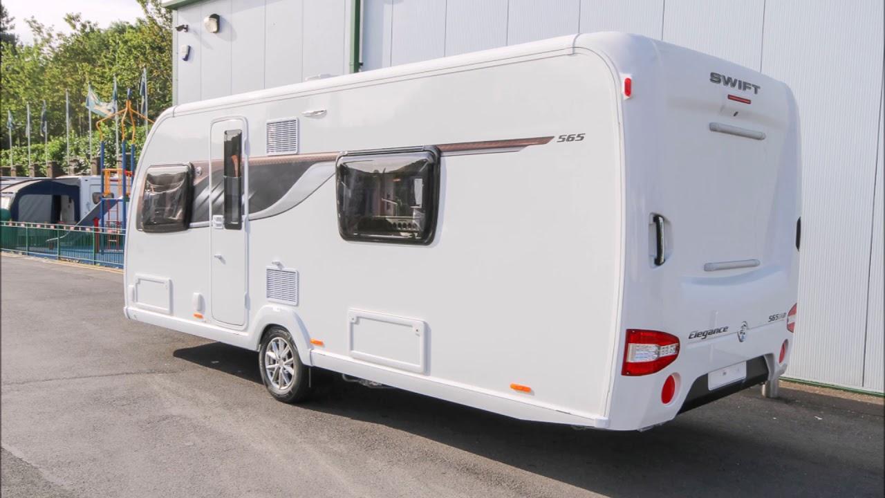 swift elegance 565 2018 model demonstration specification video hd glossop caravans [ 1280 x 720 Pixel ]