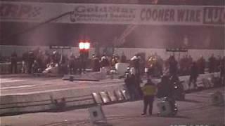 NHRA 2010 Winternationals Top Fuel blower explosion