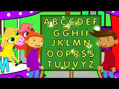 ABC Türkçe | Alfabe Şarkısı | Eğitici Çocuk Şarkıları | Edis Ile Feris