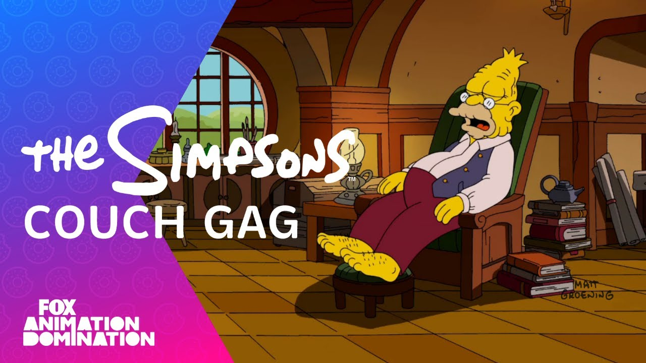 """The Hobbit"" Couch Gag 