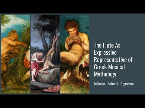 Julianna Sabo de Figueroa: Lecture Recital Greek Musical Mythology