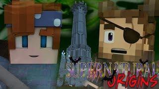 THE DRUIDS TOWER! - Minecraft Supernatural Origins #23 (Werewolf Modded Roleplay)