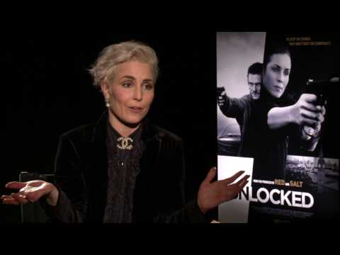 Unlocked: Noomi Rapace Official Movie Interview