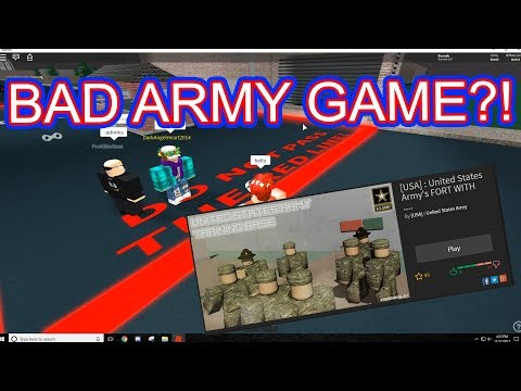 ROBLOX ARMY GROUP TROLLING | EXPLOITING #1