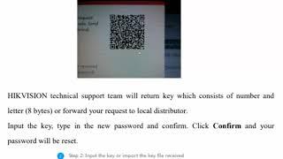 Hikvision Password Reset Tool