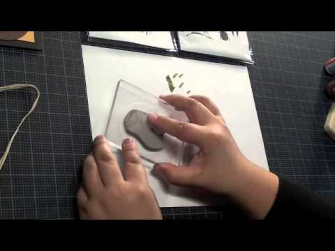 Local King Rubber Stamp Tutorial 10 Alcohol Inks Effect