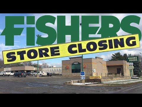 Final Look - FISHERS FOODS CLOSING : Massillon Ohio