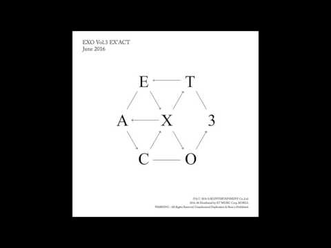 [FULL ALBUM/MP3/DL] EXO – EX'ACT – The 3rd Album (KOREAN VER.)