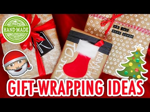 3 Easy Ways to Wrap Gifts | Christmas...