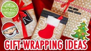 3 Easy Ways to Wrap Gifts | Christmas Craft Supply Swap with Sea Lemon - HGTV Handmade
