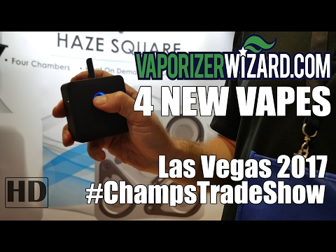 New Dry Herb Vapes for 2017 #ChampsTradeShow – Las Vegas