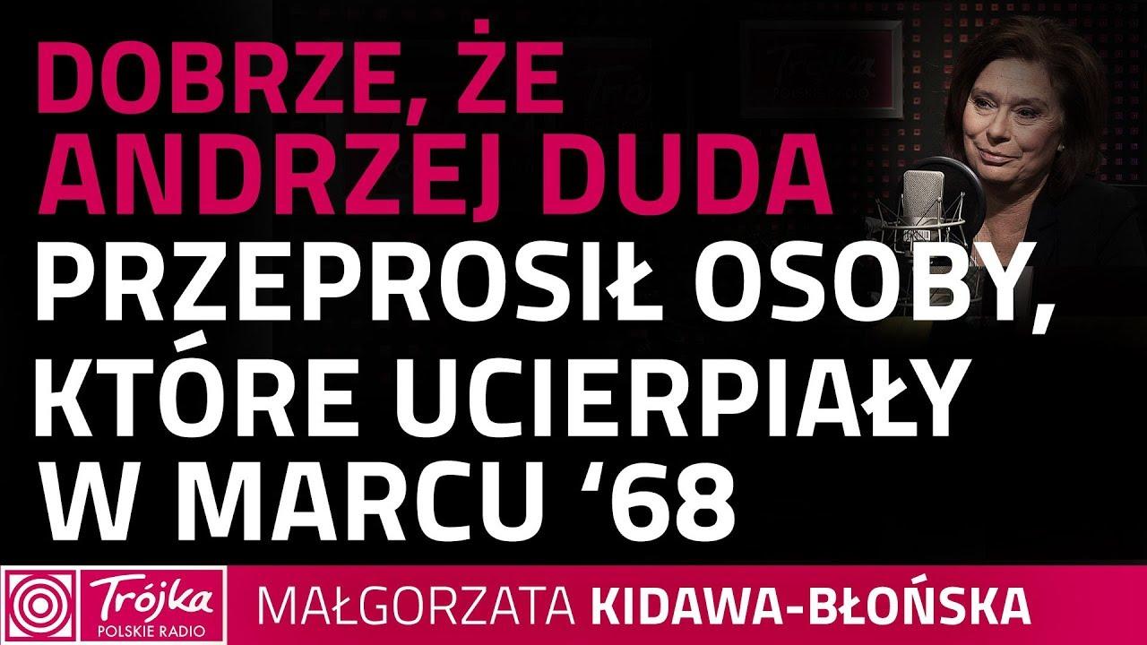 Małgorzata Kidawa – Błońska: Andrzej Duda nie ucieknie od słowa konstytucja
