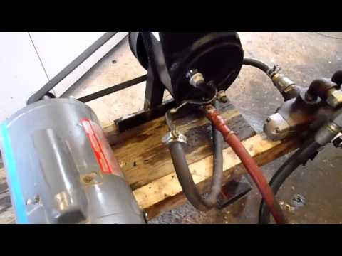 Controlling Hydraulic Motor & Cylinder With Power Steering Pump