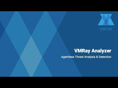 VMRay Analyzer - Agentless Threat Analysis & Detection [Overview]