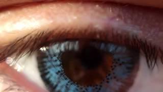 Цветные контактные линзы  Макро Color contact lens macro(Посмотрите, как выглядят цветные линзы, как они меняют восприятие внешности человека, его образ. С их помощ..., 2015-11-09T19:39:24.000Z)