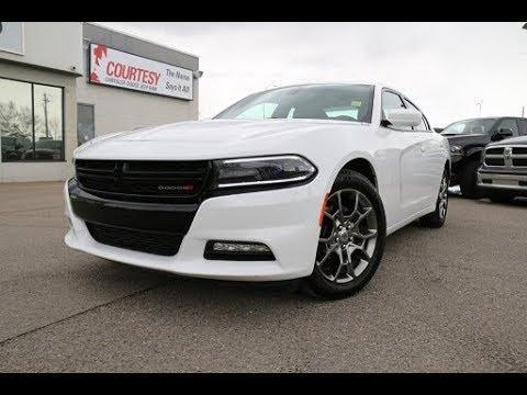 2017 Dodge Charger Sxt Rallye Bright White Courtesy Chrysler