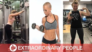 Woman Beats Cancer By Exercising