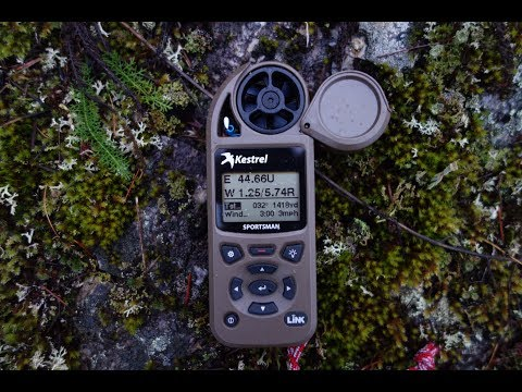Kestrel Sportsman w/ LiNK & Applied Ballistics: How To Set Up and Operate