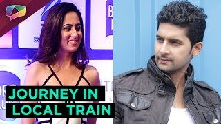 Television actor Ravi Dubey Travelled in Local Train