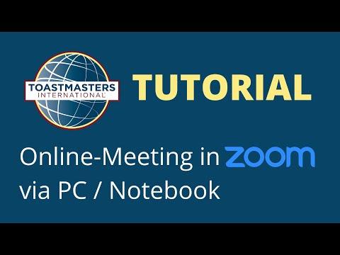 Zoom Erklarvideo fur Notebook & Computer