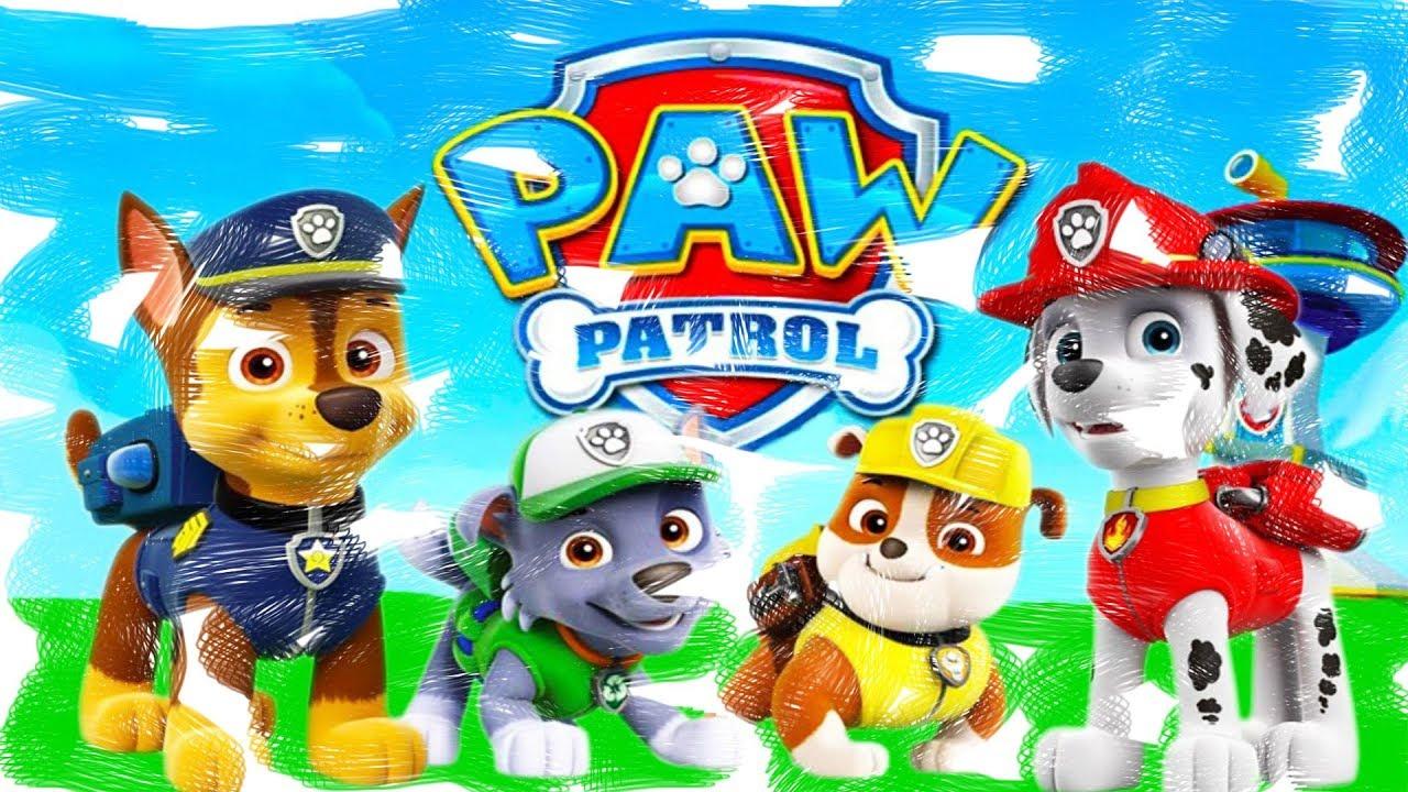 paw patrol malvorlagen youtube