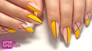 Аппаратныи маникюр и длинные ногти Матовыи дизаи н ногтеи