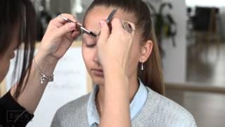 Как сделать красивые ухоженные брови. Правильная коррекция бровей(Регистрация на онлайн курс