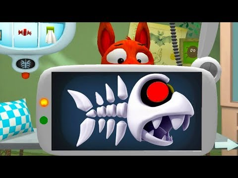 Fun Forest Animal Care Kids Game - Little Fox Cute Animal Pet Care Gameplay Video