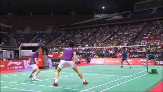 SF - MD - Cai Yun/Fu Haifeng vs. Lee Yong Dae/Jung Jae Sung - Li Ning Singapore Open 2011
