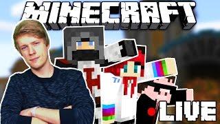 Minecraft Livestream! - Murder Mystery haverokkal!