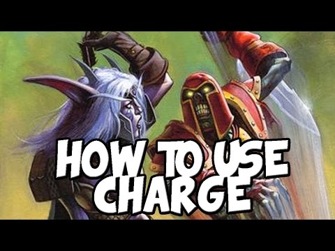 How to Use Charge [Hearthstone]