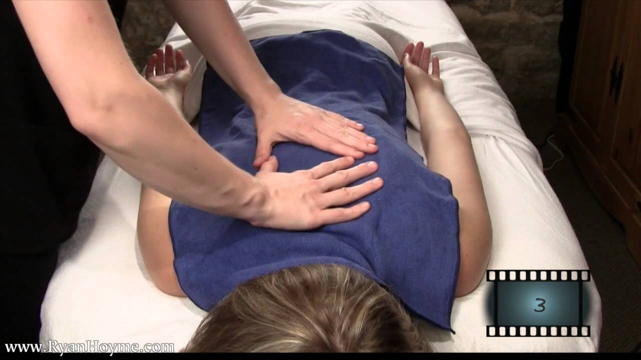 Hot Towel Massage Techniques 1 Video Clips Customize Your Own Massage Video