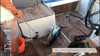 Sailing The Dream   #051   Non stop Tunisia to Turkey - Part 2