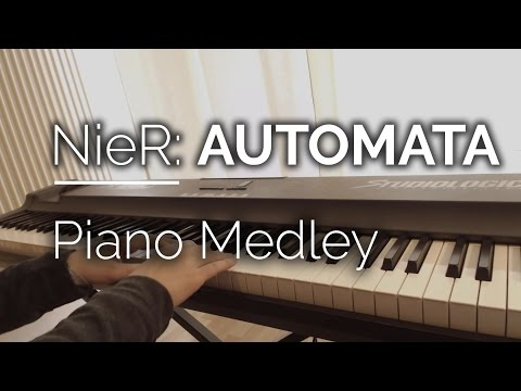 Nier Automata Piano Medley - Copied City / Goliath / Weight of the World / Simone ...