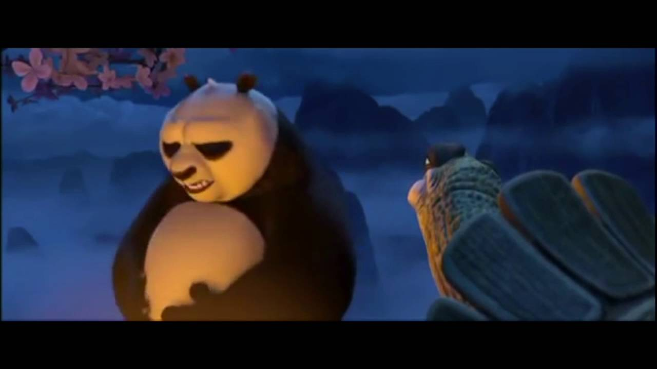 Kung Fu Panda Today Is A Gift Youtube