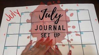 JULY 2019 Journal Setup | BudgetWithBri