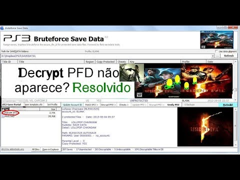 ps3 bruteforce save data 4.5.1