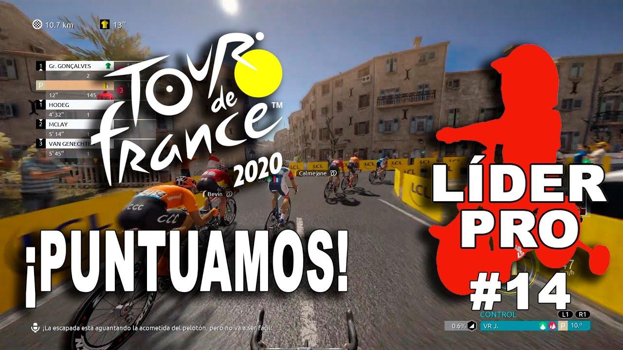 TOUR DE FRANCE 2020 Líder Pro #14 VR_JUEGOS