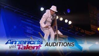 Maxim Popazov: Chair Balancer Stacks To New Heights - America's Got Talent 2017