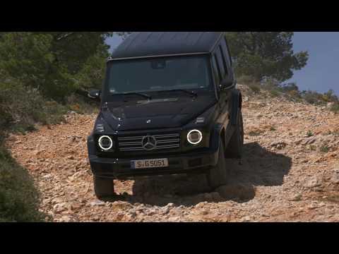 Mercedes-Benz G 500 black (off-road)
