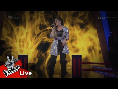 Μαρίνα Τζιάνγουιρθ - Fallin' | Live | The Voice Of Greece