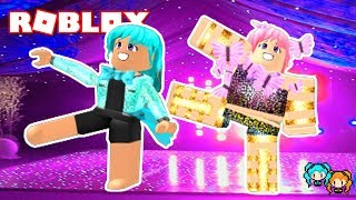 ROBLOX DANCE YOUR BLOX OFF DUO ROUTINE WITH MY SISTER LYRONYX AND FUNNY MOMENTS!