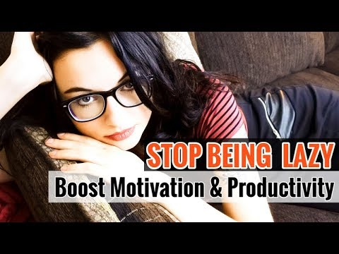 10 Hacks on How to Stop Being Lazy // Stop Procrastinating & Get Motivated